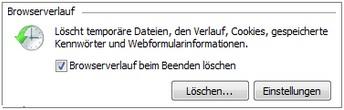 Browserverlauf