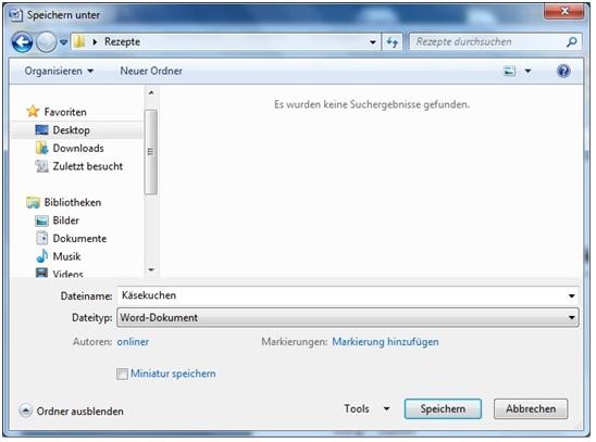 Word_Speichern unter_3